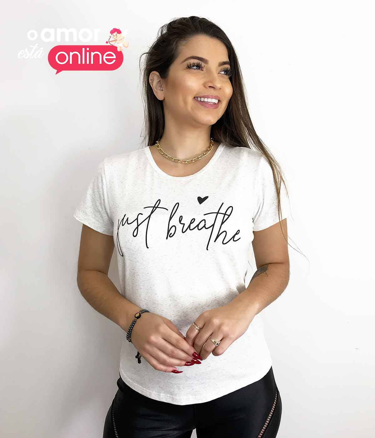 T-Shirt Só Respira