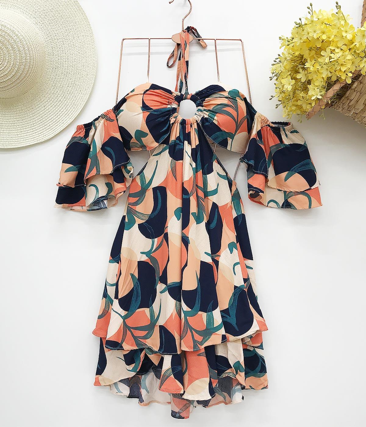 Vestido Floreça