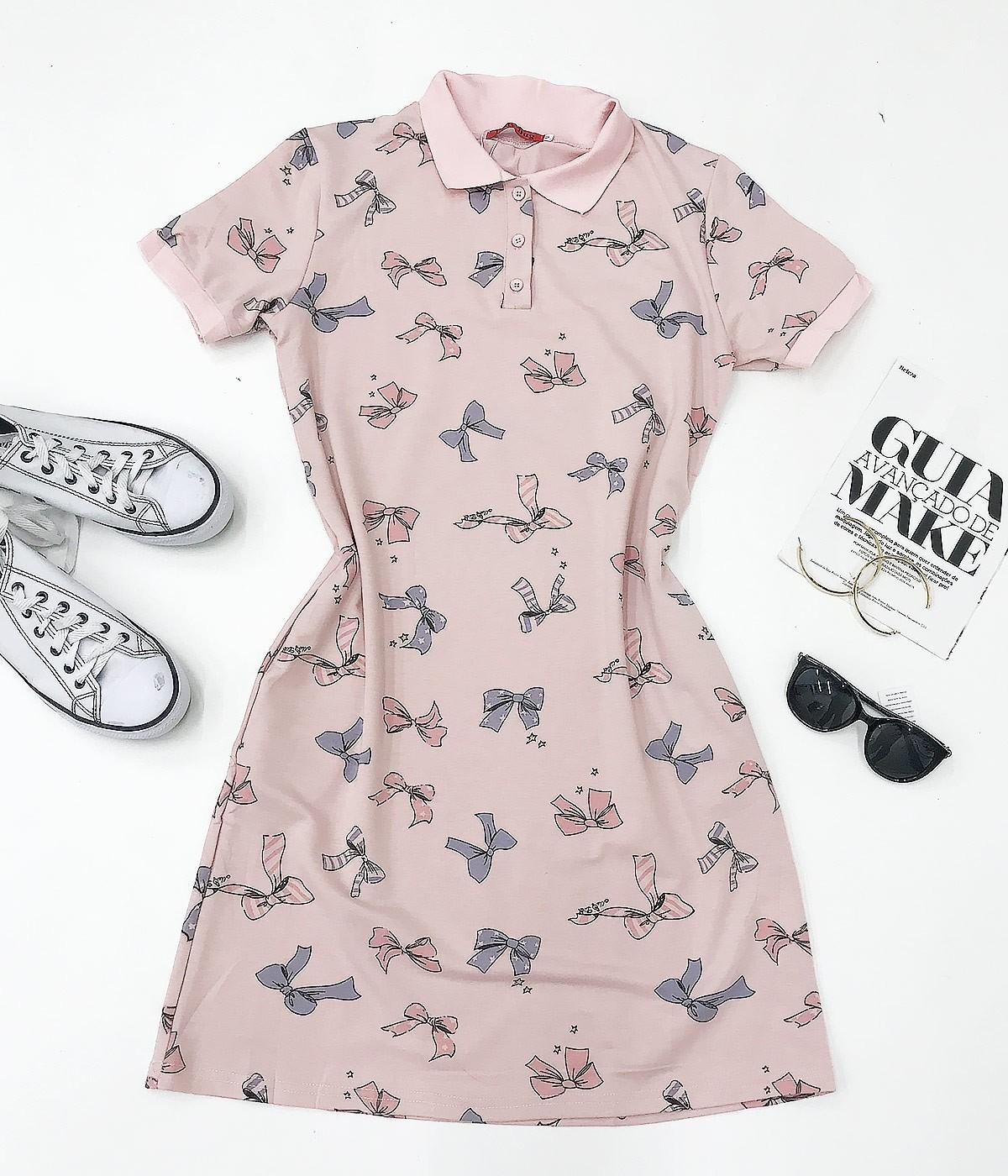 Vestido Que Lindo Laço