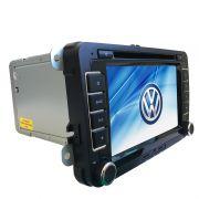 Central Multimídia Novo Fusca GPS TV Camera Usb Sd BT Espelhamento