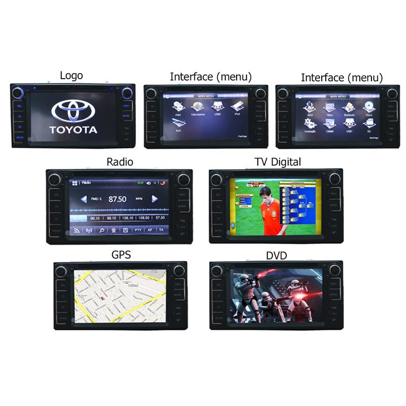 Central Multimidia Toyota Corolla Gli 2015 2016 2017 2018 Tv Digital Gps  - MARGI PARTS