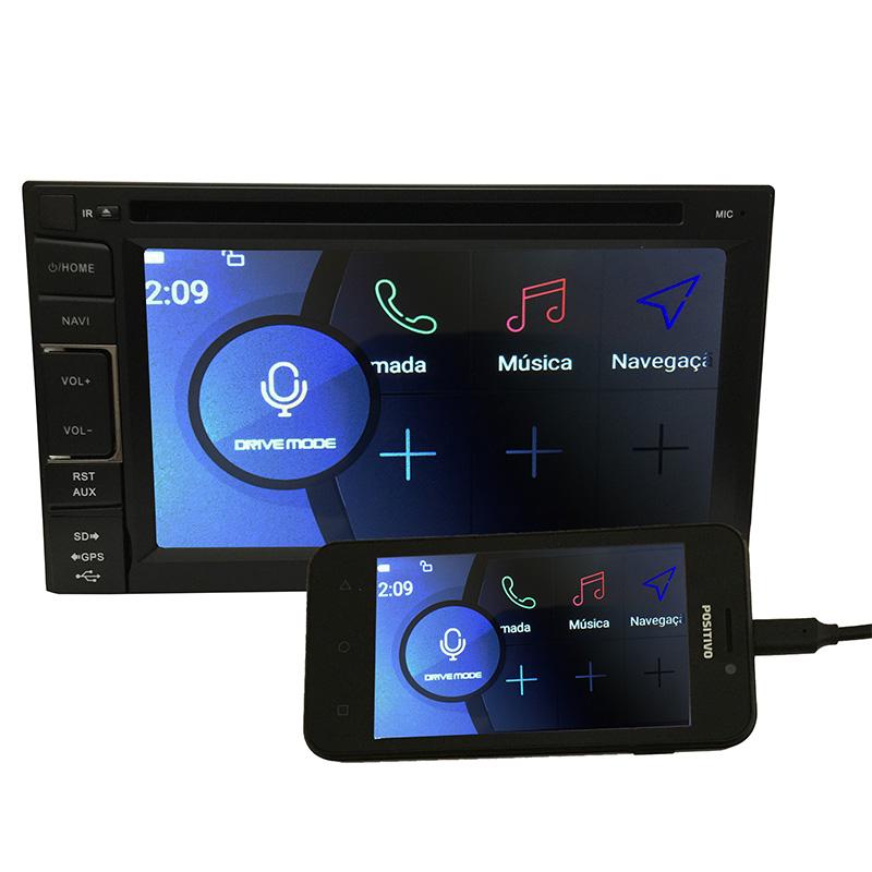 Central Multimidia PathFinder GPS TV Usb Camera Espelhamento  - MARGI PARTS