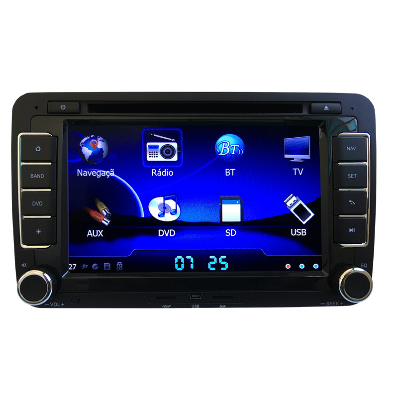 Central Multimídia Tiguan GPS TV Digital PhoneLink  - MARGI PARTS