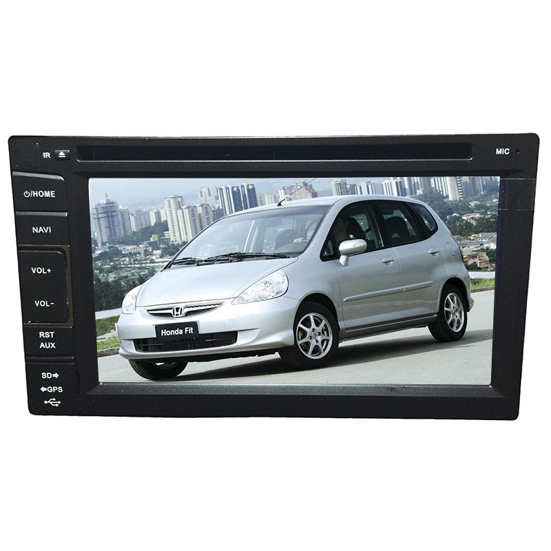 Central Multimidia Honda Fit 2003 04  05 06 07 08 GPS TV Usb Sd Camera BT Espelhamento  - MARGI PARTS