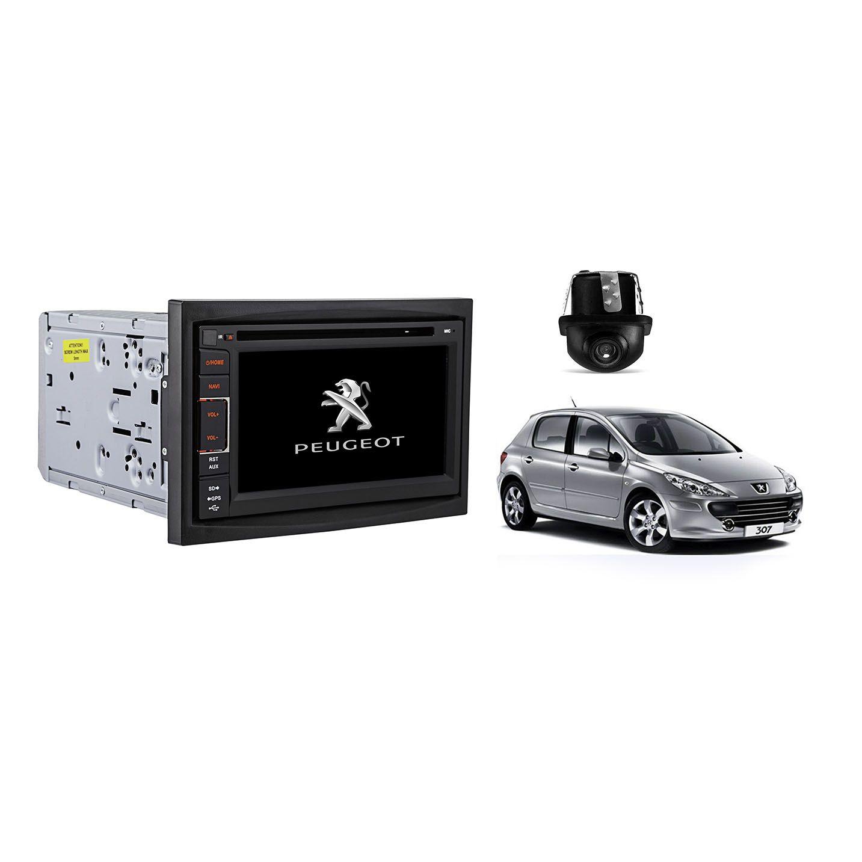 Central Multimidia Peugeot 307 01/12 Tv Gps Usb Sd BT Espelhamento Camera  - MARGI PARTS
