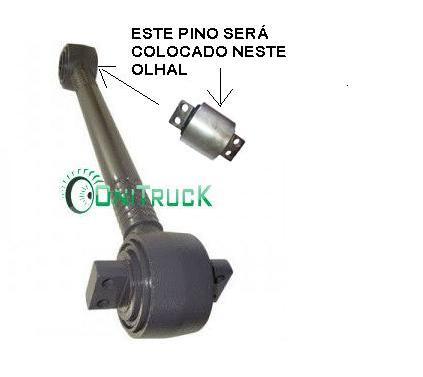 Barra de Reação Volvo B10M 1199801  - Onitruck