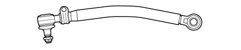 Barra de Direção Volare A6 até 2004  - Onitruck