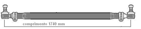 Barra de Ligação Ônibus 16180 Volks  - Onitruck