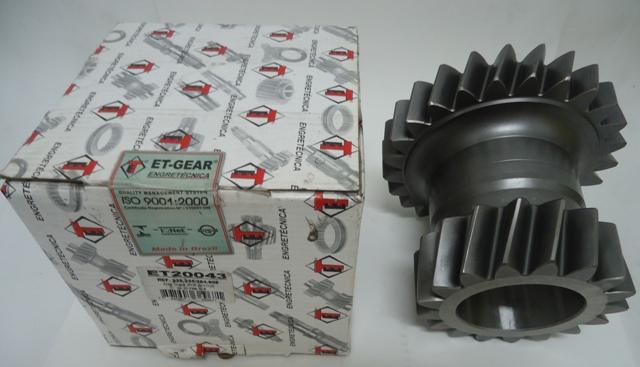 Engrenagem Dupla sacnia  Cambio G770/ G776/ G777 284808  - Onitruck