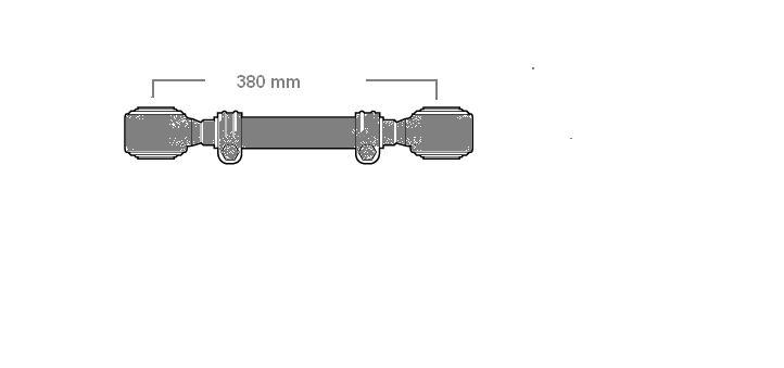 Tirante Estabilizador do Motor Mercedes  - Onitruck