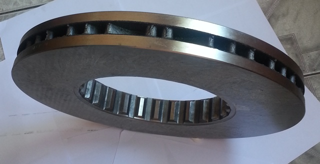 Disco de Freio do Volvo B9R -B11-B12R Dianteiro/ Traseiro 85103803  - Onitruck
