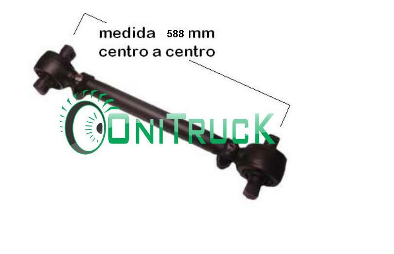 Barra de Reação Mercedes 0500 U 6343502106  - Onitruck