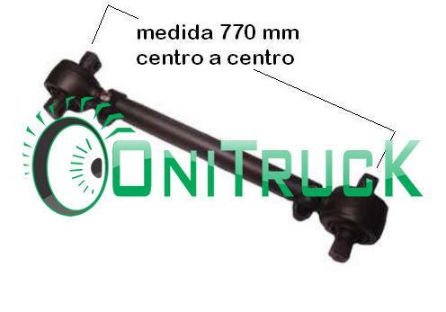 Barra de Reação Mercedes 0500 U 6343300211  - Onitruck