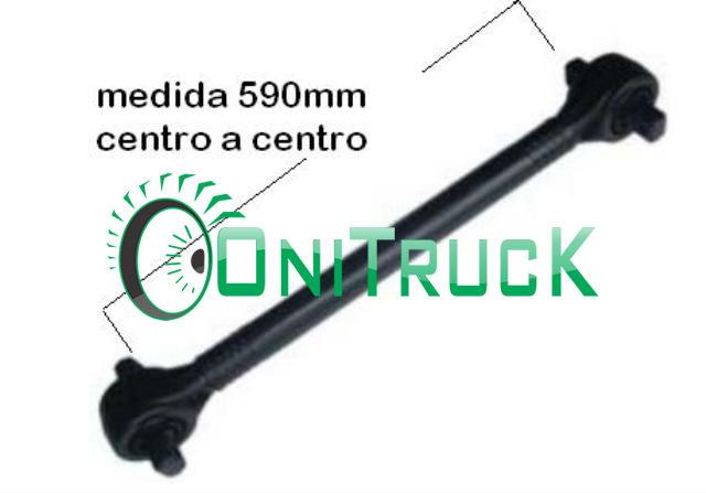 Barra de Reação Mercedes 0500 U 6343502206  - Onitruck