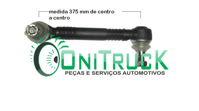 Barra Estabilizadora Dianteiro Direito Mercedes Benz 0500U 6343230116  - Onitruck