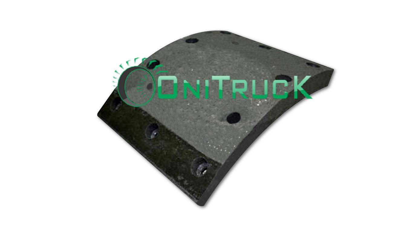 Lona de freio Volvo Dianteira  B10M, B58,N10  - Onitruck