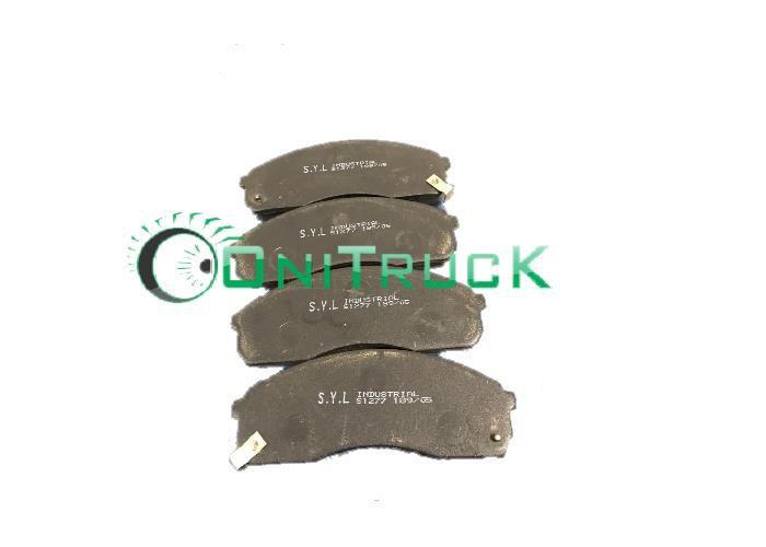Pastilha de freio dianteira SYL1277  - Onitruck