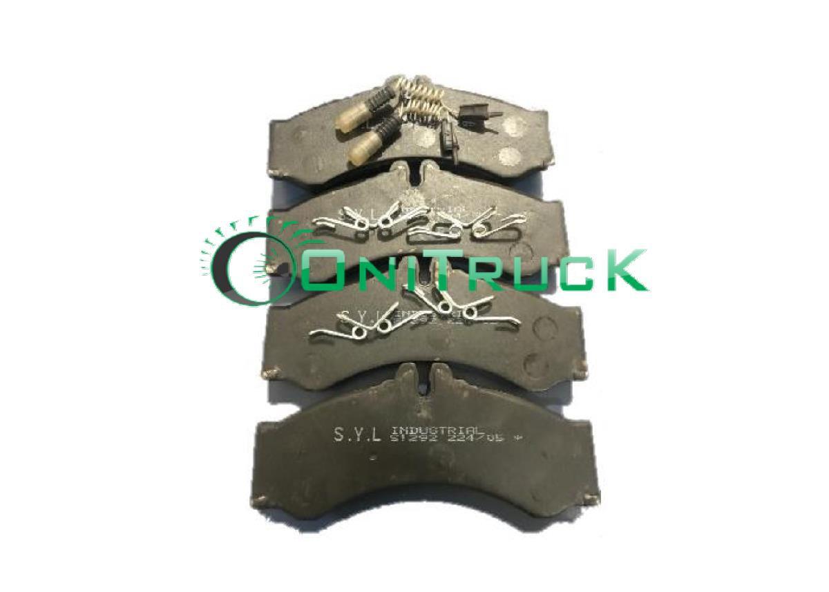 Pastilha de freio caminhao mercedes  Eletronico. 712-812- lo814- 914   - Onitruck