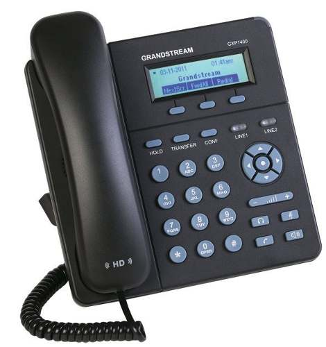 Grandstream GXP1405 Telefone IP 2 Linhas SIP Audio HD