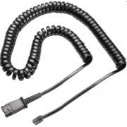 CABO ESPIRAL QD PARA HEADSET (PLUG U10P) 27190-01 PLANTRONICS