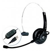 HEADSET COM FIO USB LC 110