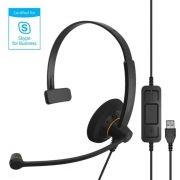 Headset Sennheiser Com Fio SC30 USB