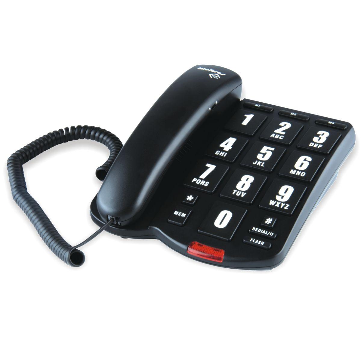 Telefone Intelbras Tok Facil - Hope Tech Telecomunicações