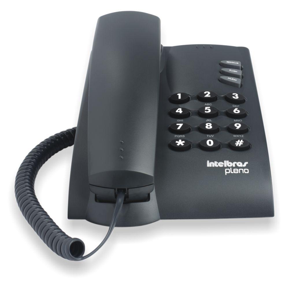 Telefone Intelbras Pleno - Hope Tech Telecomunicações