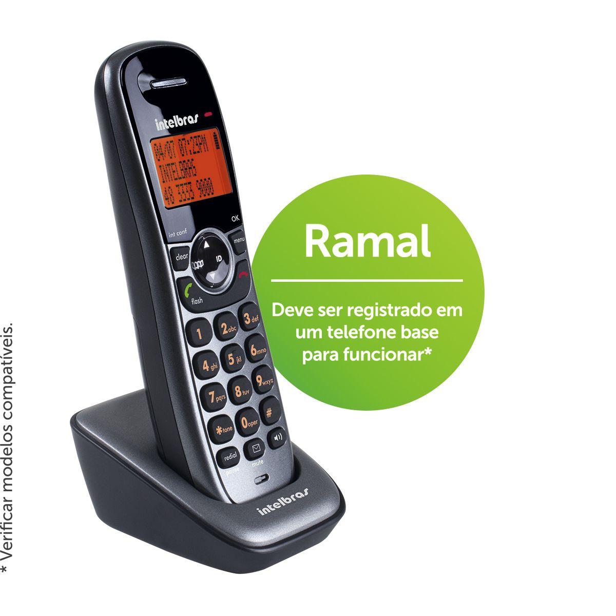 Ramal sem fio TS 6121 - Hope Tech Telecomunicações