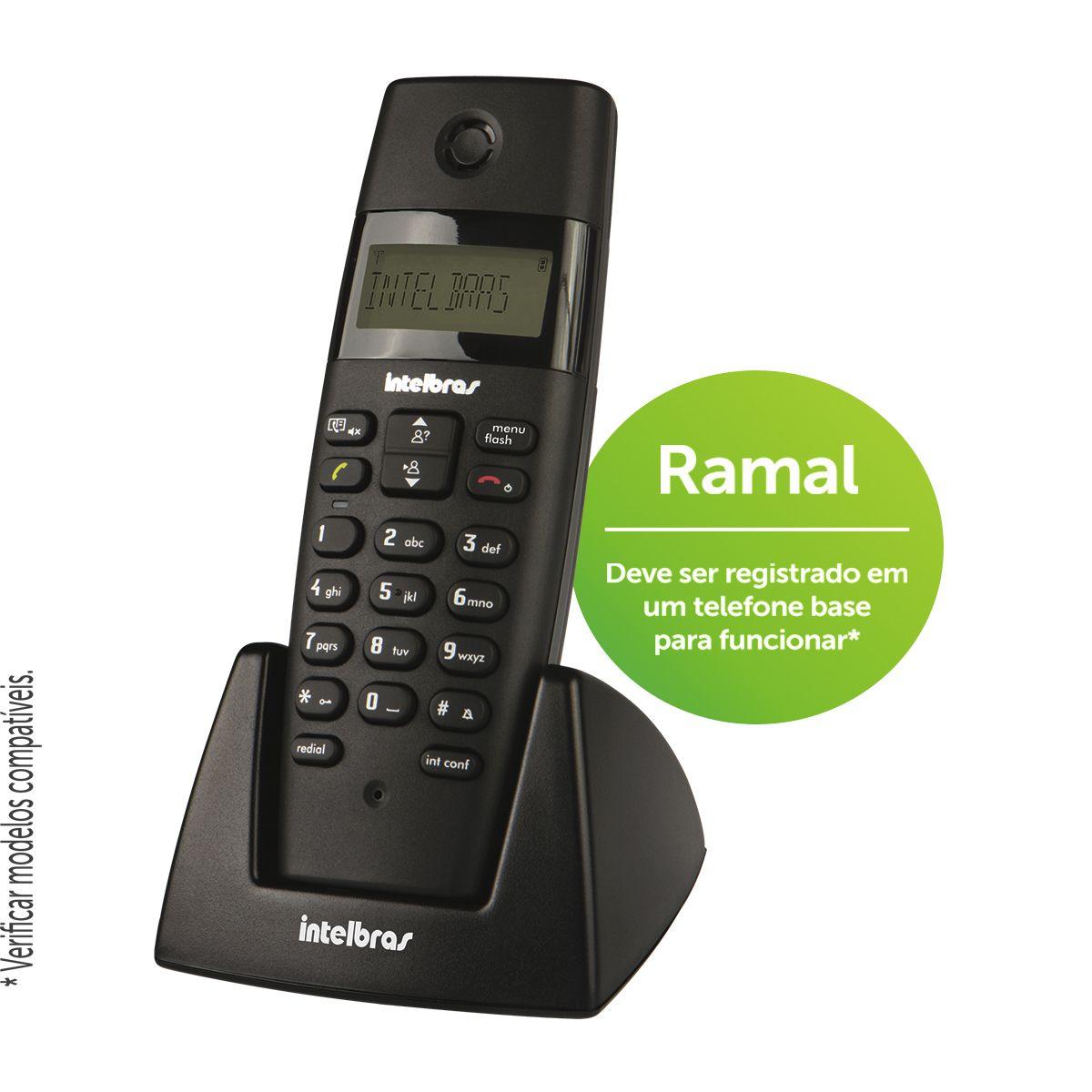 Intelbras Ramal sem fio TS 40 R - Hope Tech Telecomunicações