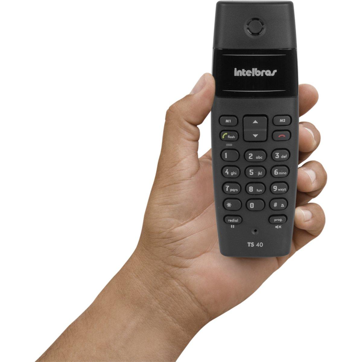 Telefone Intelbras TS 40 sem fio - Hope Tech Telecomunicações