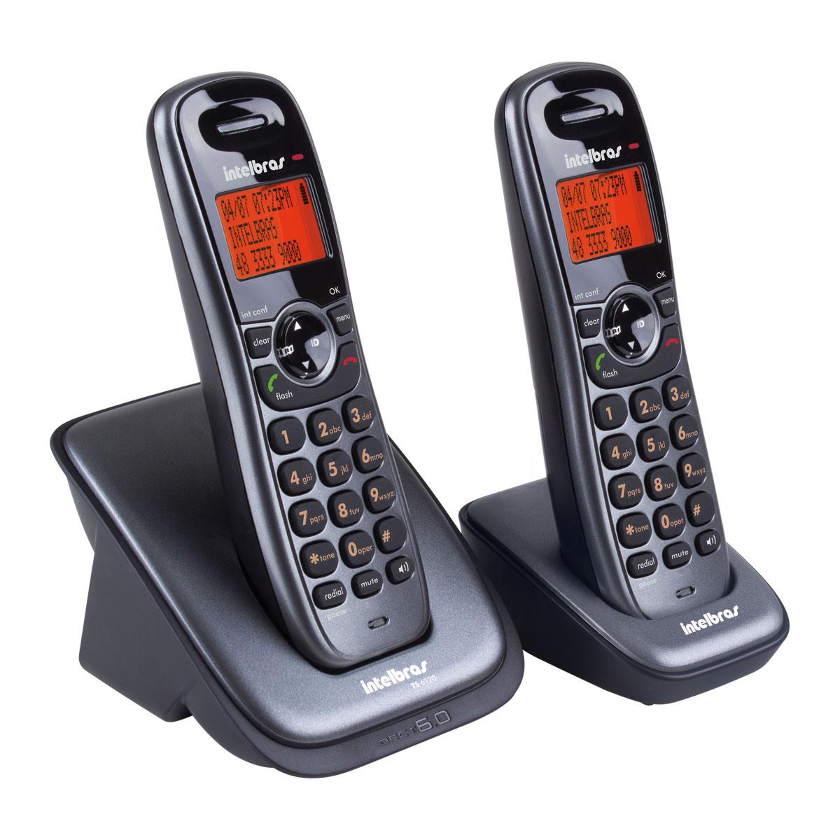 Telefone Intelbras TS 6122 sem fio - Hope Tech Telecomunicações