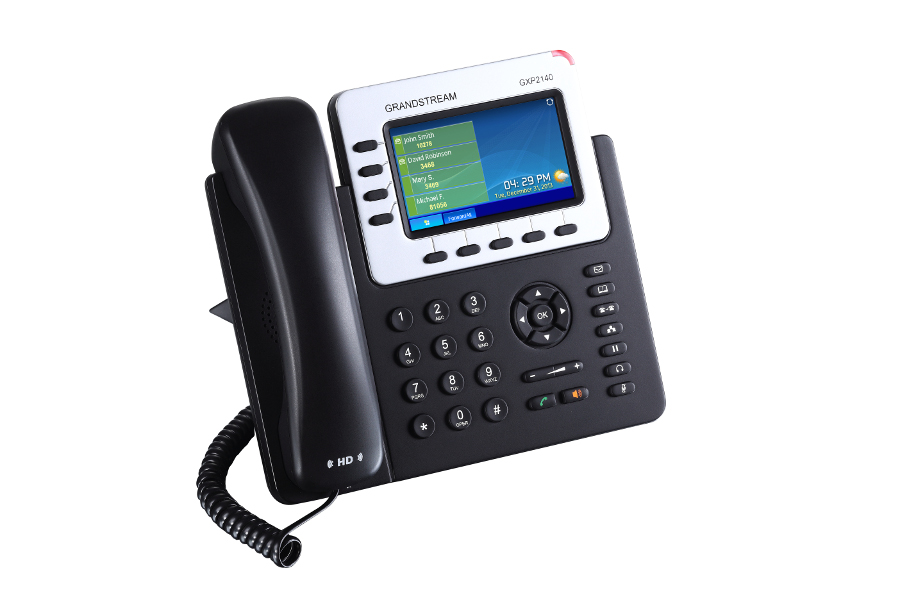 Telefone IP Grandstream GXP2140 - Hope Tech Telecomunicações