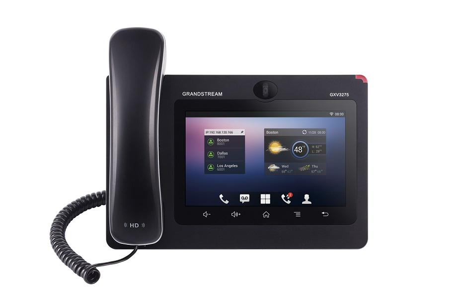 Telefone IP Grandstream GXV3275 - Hope Tech Telecomunicações
