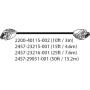 HDX MICROPHONE ARRAY CABLE  WALTA TO WALTA 15 MT CONNECTS HDX MICROPHONE - Hope Tech Telecomunicações