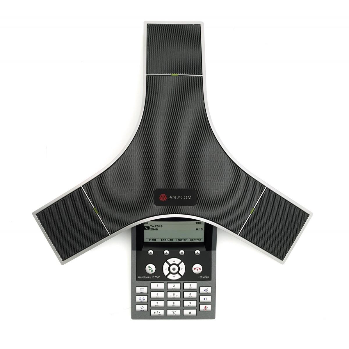 Audioconferência IP SoundStation IP 7000 Polycom - Hope Tech Telecomunicações