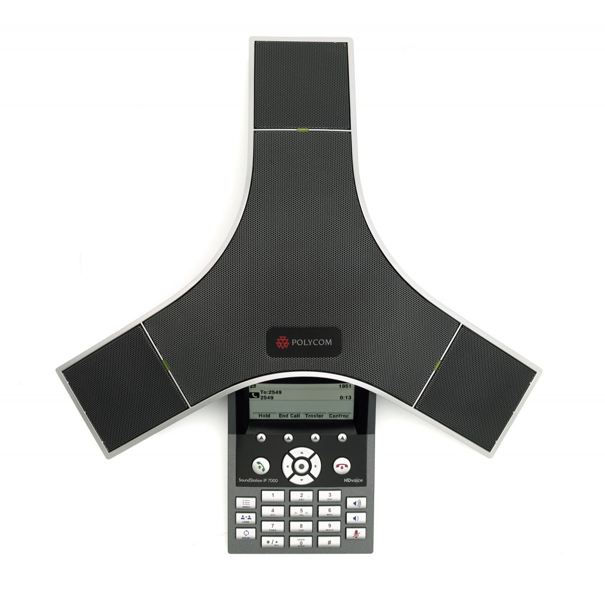 Audioconferência IP SoundStation IP 7000 Polycom