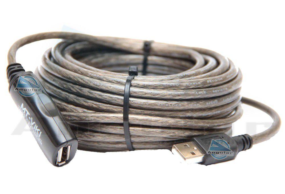 CABO EXTENSOR USB 2.0 AM/FM 10MTS