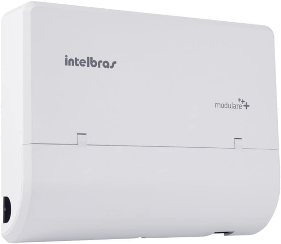 Central de PABX Intelbras - Modulare +  Configurada com 4 linhas e 12 ramais