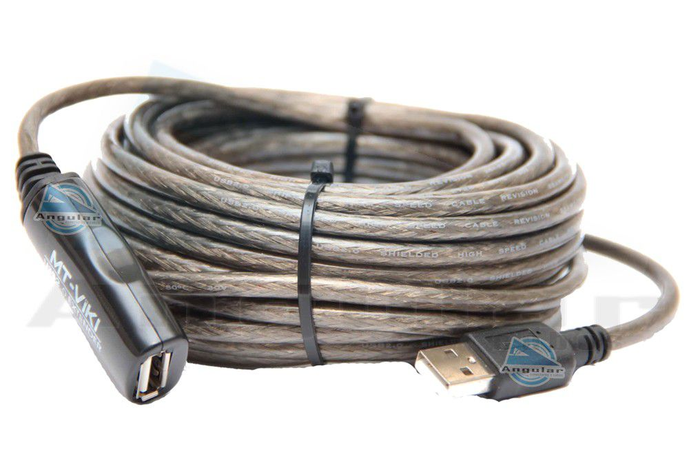 Extensor USB com Amplificador de Sinal 10 metros