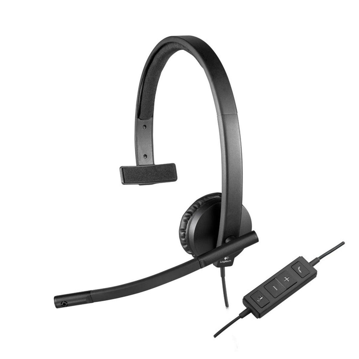 HEADSET USB LOGITECH H570e MONO