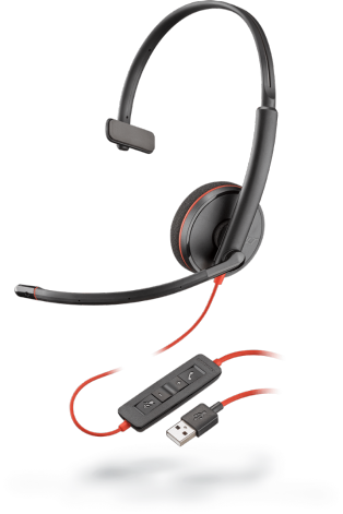 Headset Plantronics Blackwire C3210