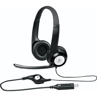 HEADSET USB COURO COM MICROFONE H390 LOGITECH
