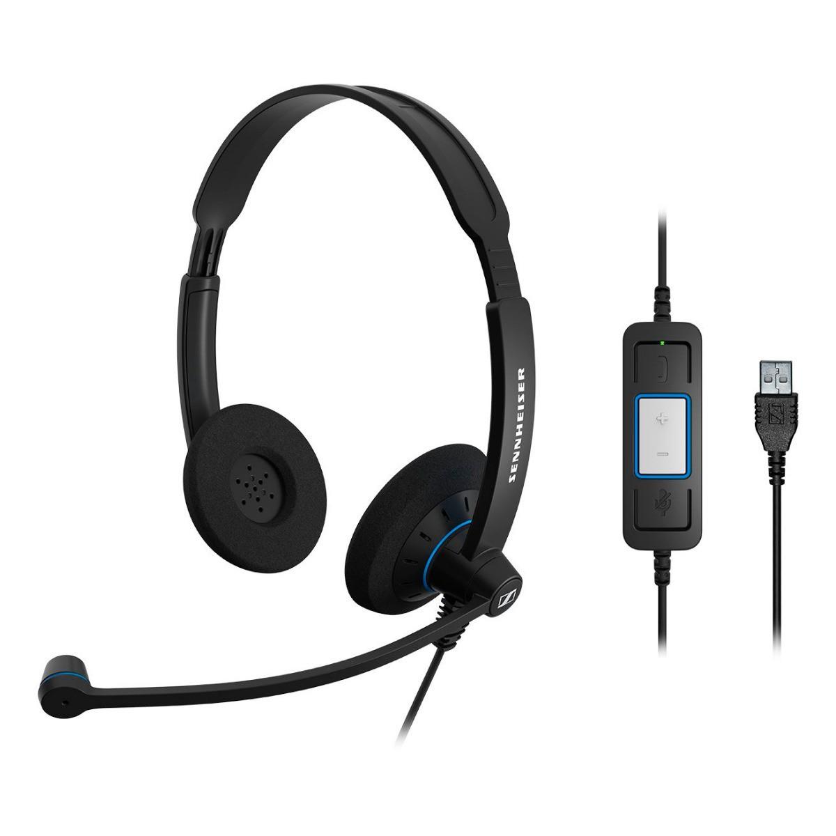 SENNHEISER HEADSET USB STEREO SC60