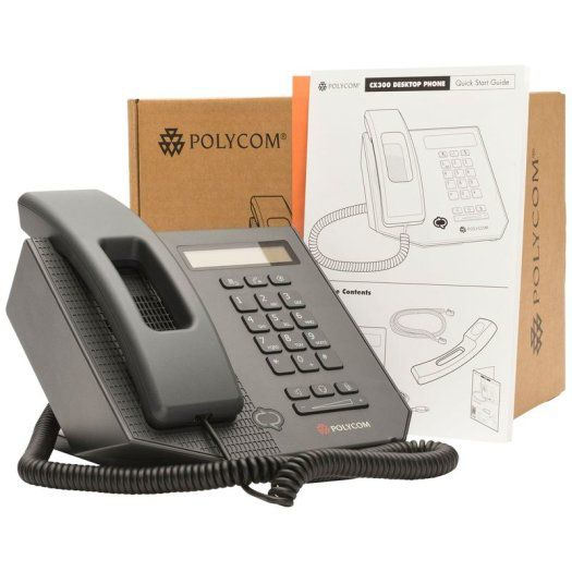TELEFONE DESKTOP USB FOR MICROSOFT CX300 - POLYCOM