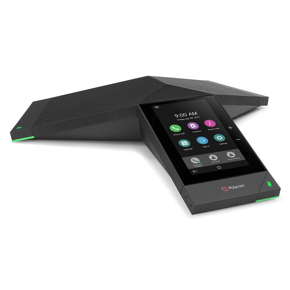 TRIO 8500 CONFERENCIA PHONE POLYCOM SFB WI-FI BLUETOOTH POE. NO PWR KIT.