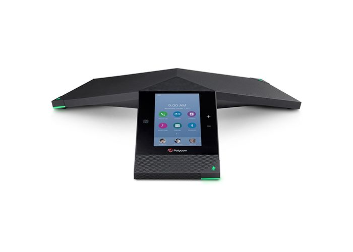 TRIO 8800 CONFERENCIA PHONE POLYCOM SFB WI-FI BLUETOOTH POE. NO PWR KIT.