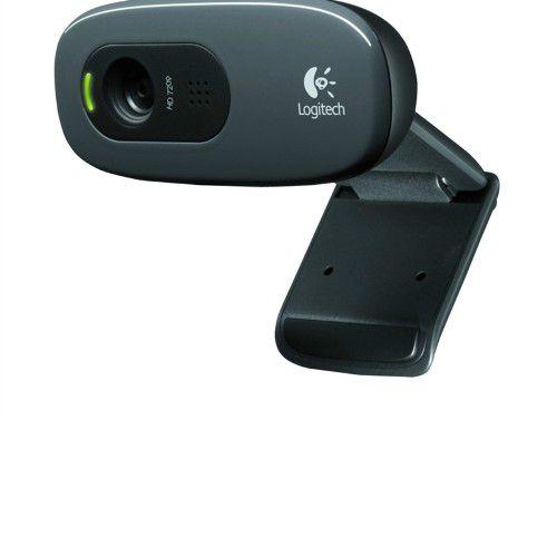 WebCam Logitech C270 HD 720p 30fps