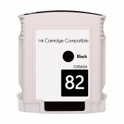 Cartucho Novo Compativel Plotter HP 82 Black 69ML Designjet: 111, 500, 510, 800, 815, 820 Cod. ref. CH565A HP82XL