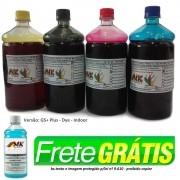 Tinta litro GS+ Dye (corante) Plotter Encad 7500 Novajet, Kodak, Viagrafx. romoção Frete Grátis para região Sul na compra do Jogo